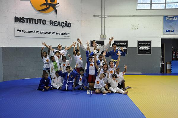 Bimbi scuola di Judo